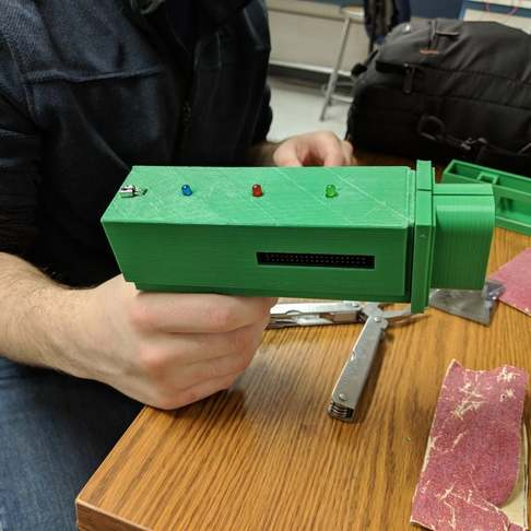 树莓派DIY真人CS装备:红外线激光枪