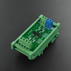 新品-2路电平转换模块 带隔离(12V转5V)