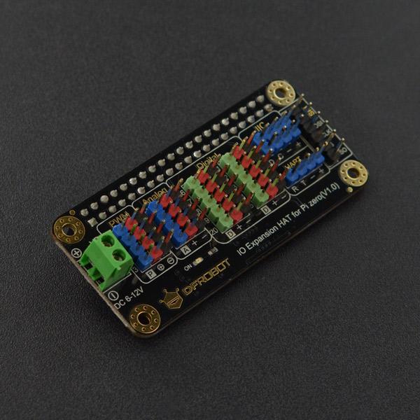树莓派IO扩展板(适用于树莓派4、树莓派Zero)