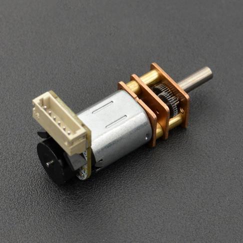 带编码器金属齿轮减速电机V2 (30:1)