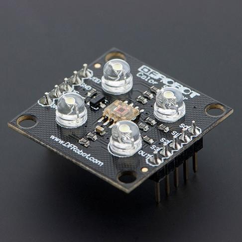 TCS3200 颜色传感器(Arduino兼容)