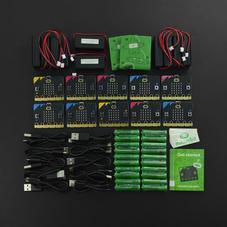 micro:bit Club V2 基础套装10套装(含电池...