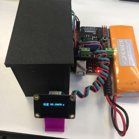 分光光度計實驗-光譜傳感器