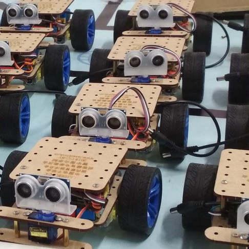 创客教育普惠工程之LaserBot机器人