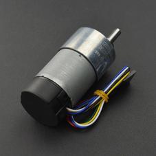 舵机/电机/电机驱动-12V直流减速电机 122rpm 带编码器