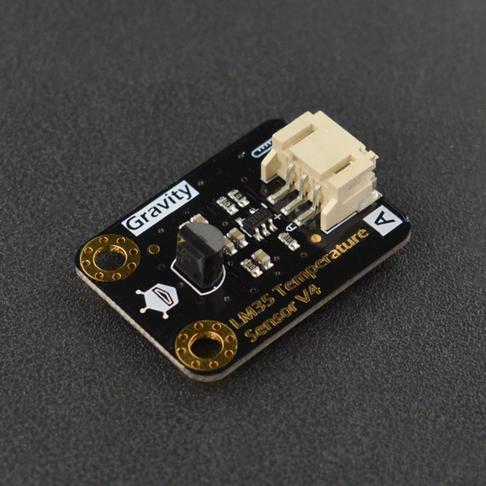Gravity: 模拟LM35线性温度传感器(Arduino兼容)