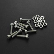 全部商品-M3*12圆头内六角螺丝 10套