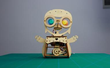 摇摆企鹅机器人