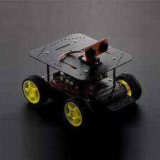 创客教育套件-海盗船4WD小车机器人套件