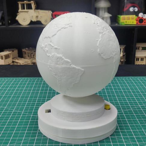 地球灯——一款提醒你开窗的利器
