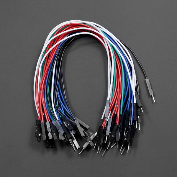 线材热卖推荐-高品质公母头跳线 21cm*30根