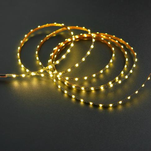 2.5mm柔性灯带(3V 138灯)暖白