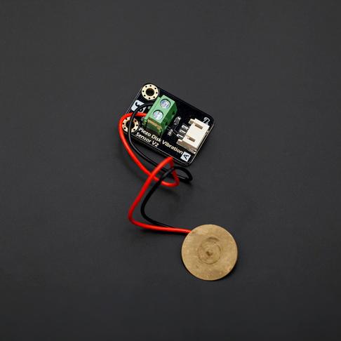 Gravity: 模拟压电陶瓷震动传感器(Arduino兼容)