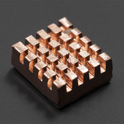 纯铜背胶散热片 发热元件必备