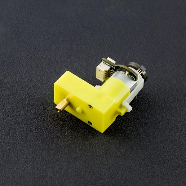 SJ02-带编码器L型直流减速电机(120:1)