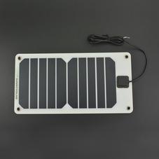 半柔性单晶硅太阳能板(5V 1A)