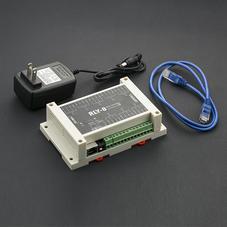 继电器-RLY-8-PoE-RS485 8路网络控制继电器模块 (支...