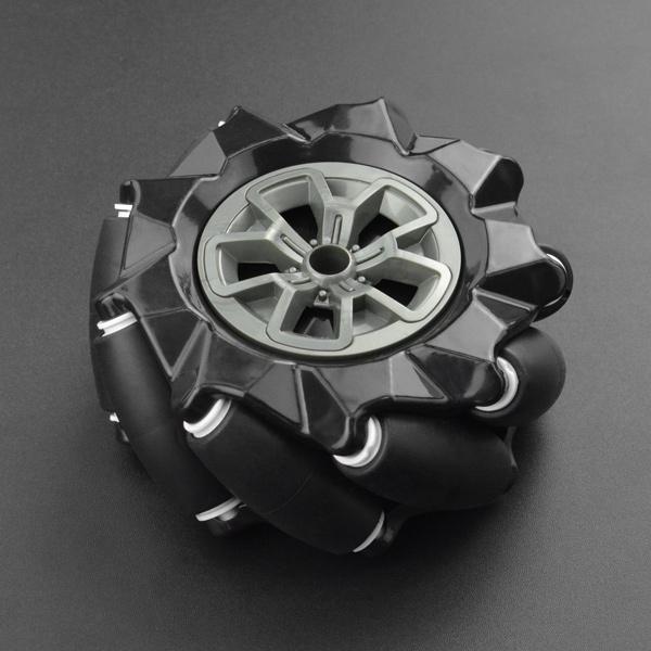 麥克納姆輪-左輪黑色(97mm)