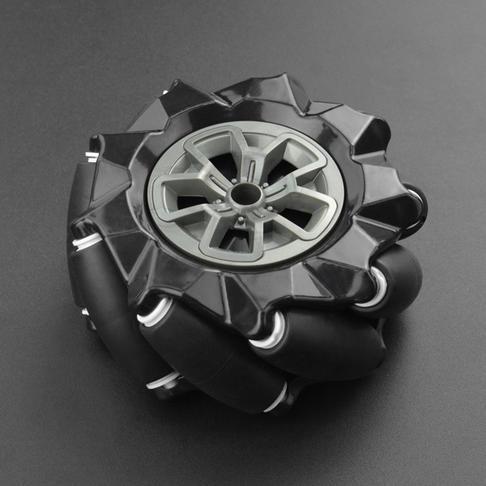 麦克纳姆轮-左轮黑色(97mm)