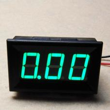电源模块-LED直流电流表 10A 绿色