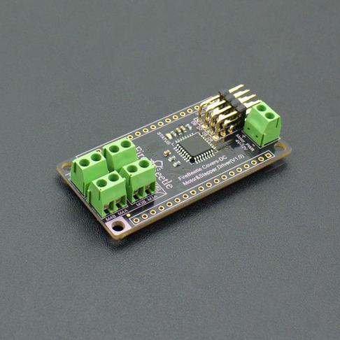 FireBeetle四路电机驱动板 (支持双路步进电机驱动)