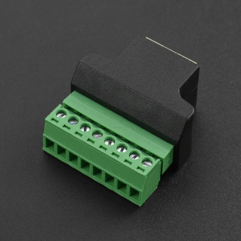 RJ45母头转8Pin端子适配器