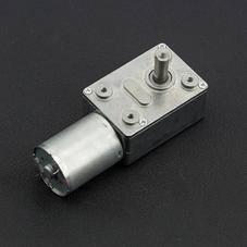涡轮蜗杆直流减速电机 (12V 40RPM 8kg.cm)