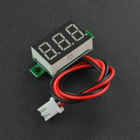 智能小车电压监测模块