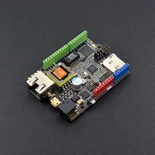 有线通信-W5500以太网主控器(集成ATmega32u4和POE供电...