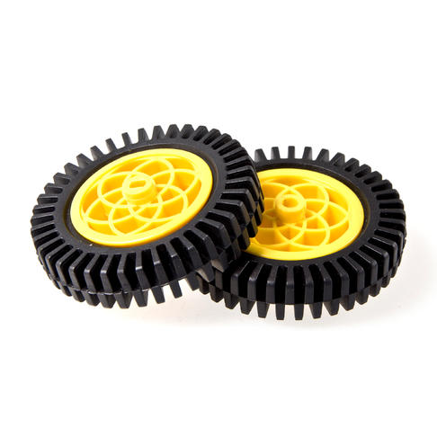 大直径橡胶轮
