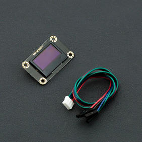 DFRobot显示模组-Gravity I2C OLED-2864 显示屏