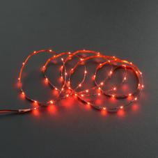 新品-2.5mm柔性灯带(5V 60灯)红色