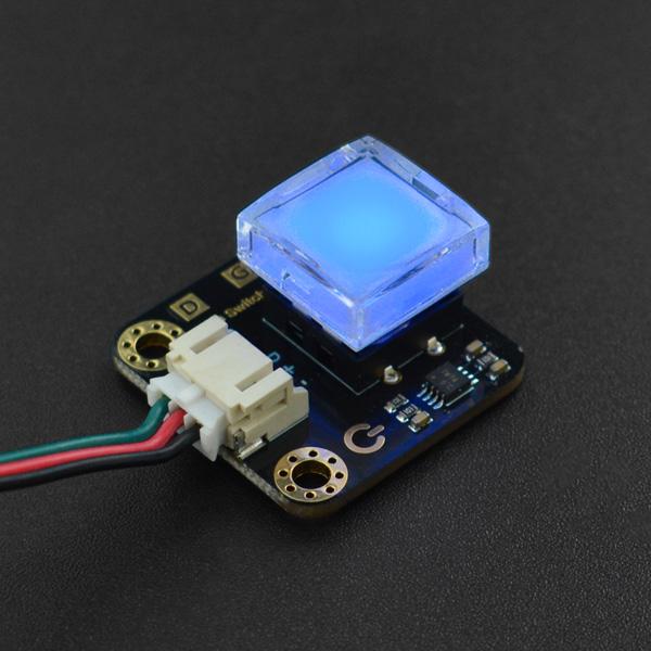 Gravity: 带LED灯的数字按键 蓝色