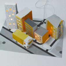 新品-导电墨水 电路城市套件Electric Paint Circ...