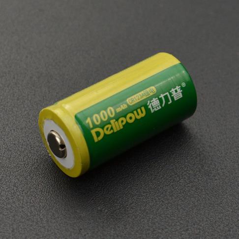 CR123A可充电式锂电池-3.6V micro:bit麦昆机器人专用