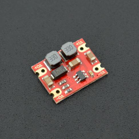 DC-DC自动升降压电源模块3~15V转5V600mA