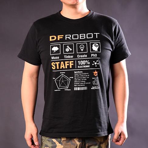 DFRobot周边T恤 中性XXL