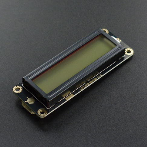 Gravity: I2C LCD1602 液晶显示屏 (灰底)