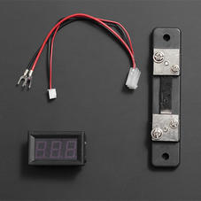 电源模块-LED直流电流表 50A 红色