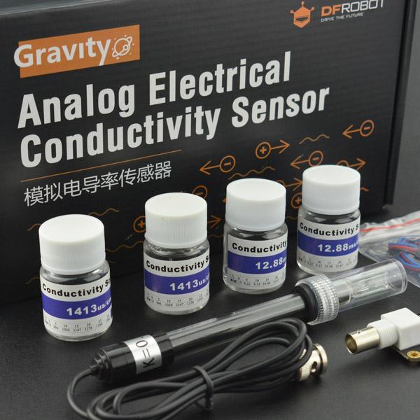 傳感器模組熱賣推薦-Gravity: 模擬電導率計V2 (K=1)