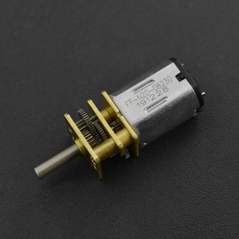 微型金属减速电机 (6V 50RPM 250g*cm)