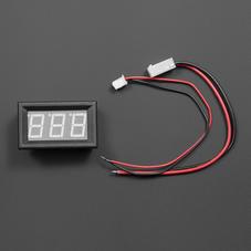 电源模块-LED直流电流表 10A 蓝色