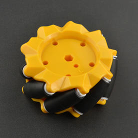 DFRobot创客商城新品推荐麦克纳姆轮 左轮(80mm)