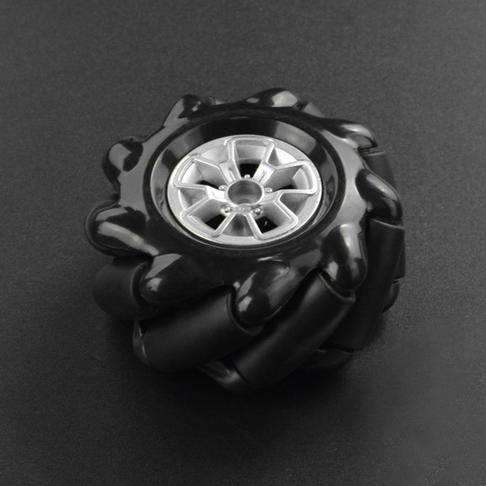麦克纳姆轮-左轮黑色(60mm)