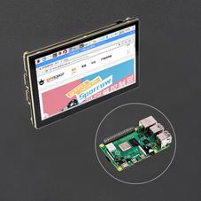 套餐组合-树莓派4代B型4GB 带5''TFT树莓派电容式触摸屏