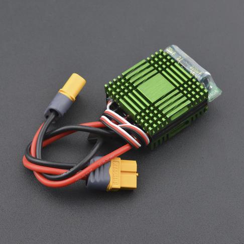 40A双向有刷电调 无刹车(带XT60插头)