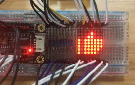 用16位IO扩展模块做一个疯狂暗示小灯板