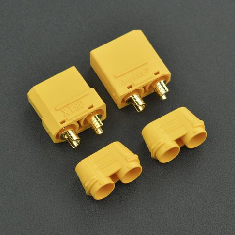 低阻值阻燃插頭XT90 恒定40A峰值90A