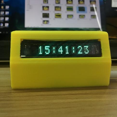 用VFD荧光屏做一个网络时钟