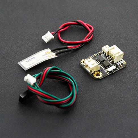 柔性压电震动传感器
